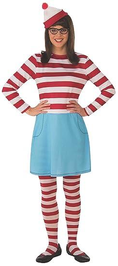 Amazoncom Rubies Womens Standard Wheres Waldo Wenda Plus Size