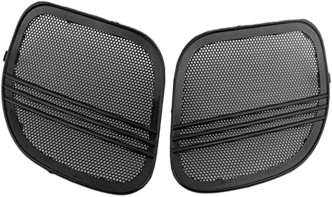 Chrome Tri-Line Speaker Grills Cover Trim Fit For Harley Road Glide 2015-2019