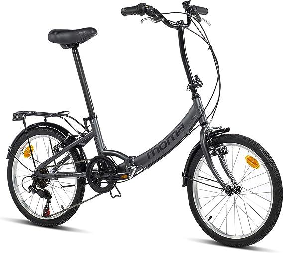 Moma Bikes Bicicleta Plegable Urbana SHIMANO FIRST CLASS 20