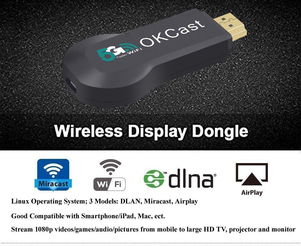 Miracast-USB-WLAN-Stick - Foxcesd Wireless HDMI: Amazon.de: Computer ...