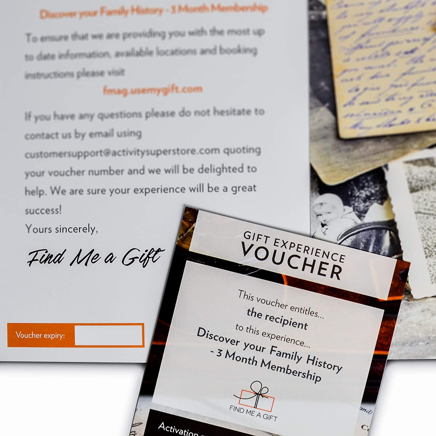 Activity Superstore Discover your Family History 3 Month Membership Gift