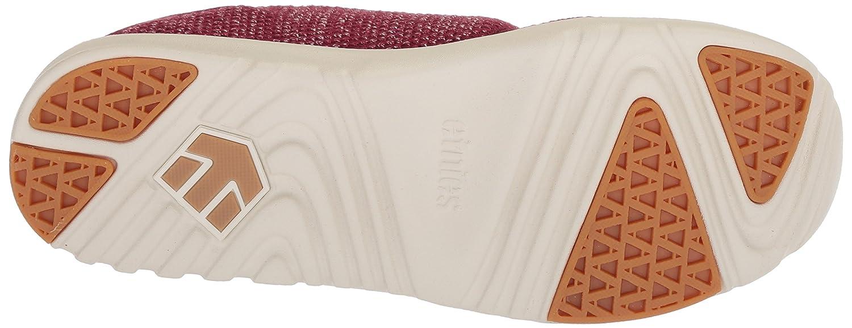 Etnies Women's Scout W's Skate Shoe B074QBSB79 11 B(M) US|Burgundy/Tan/Gum