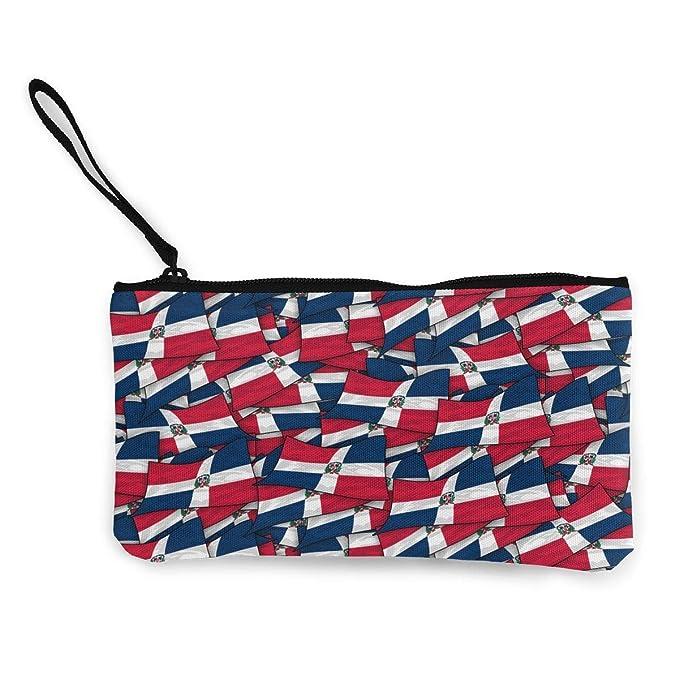 Amazon.com: Monedero de lona con diseño de bandera de ...