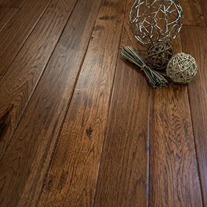 Hickory Hand Scraped Prefinished Solid Wood Floor Jackson Hole 1