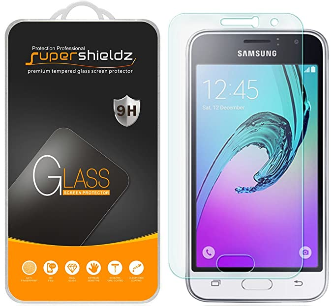 Supershieldz for Samsung Galaxy Express 3 Tempered Glass Screen Protector,  0 3mm, Anti Scratch, Bubble Free