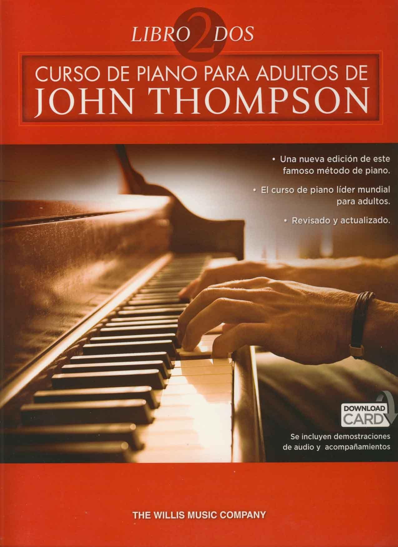 Curso De Piano Para Adultos Volumen 2: Amazon.es: THOMPSON ...