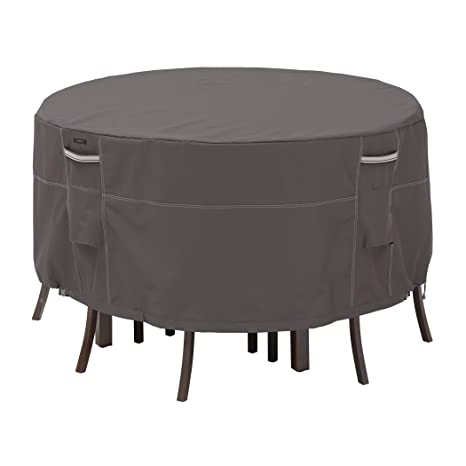 classic accessories ravenna bistro patio table u0026 chair set cover premium outdoor furniture with classic accessories patio furniture covers c24 patio