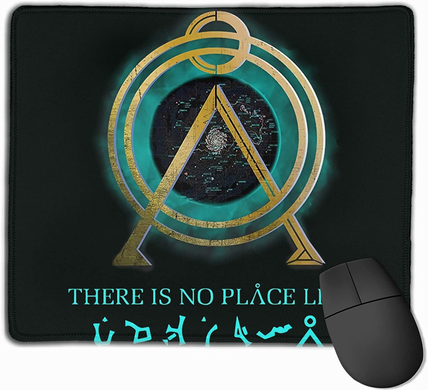 Yeorquae There is No Place Like Home Stargate Sg-1 Earth Symbol The Mouse Pad