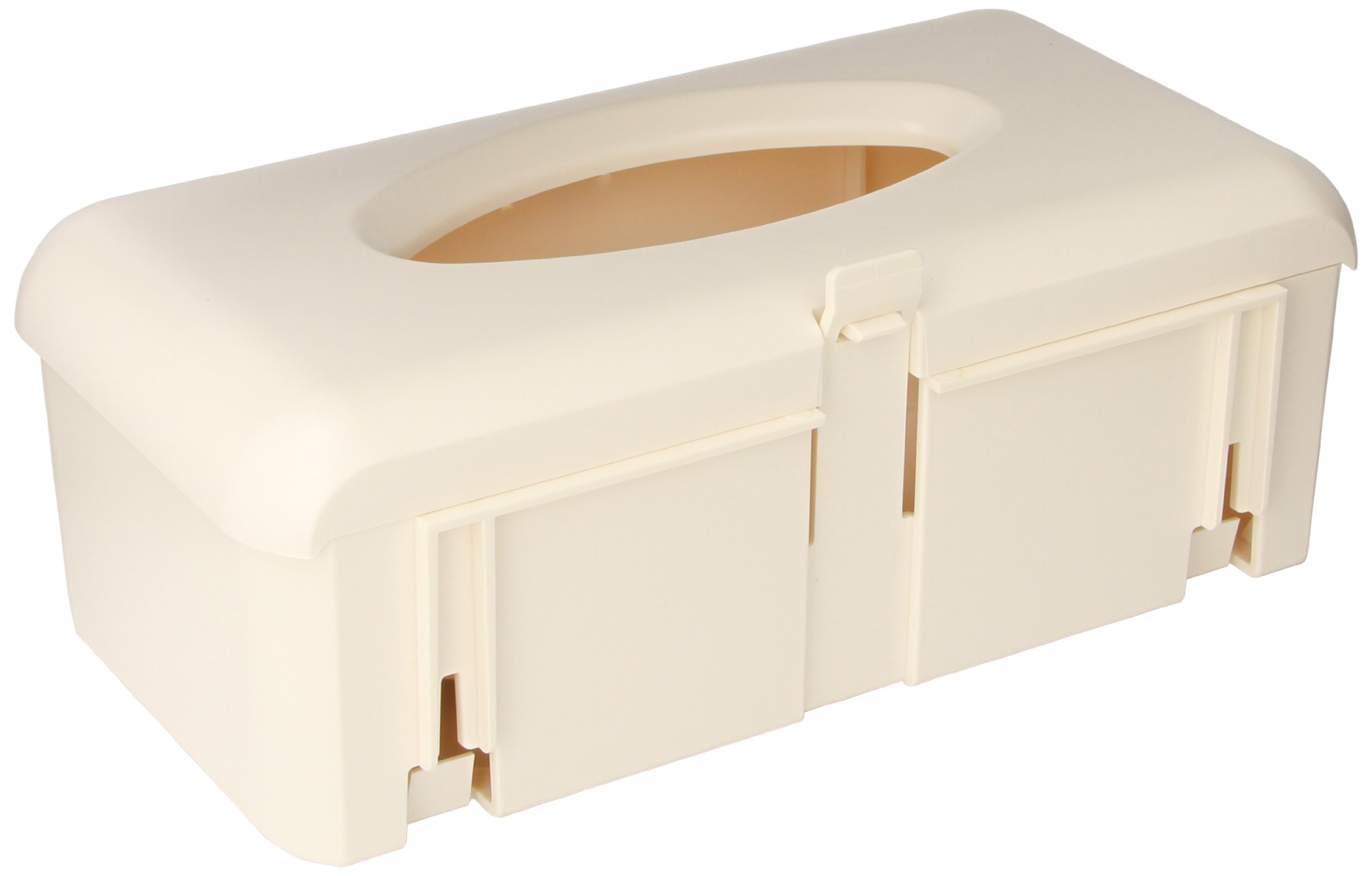 BD 305448 Glove Box Cabinet Bracket, 12'' Width x 7'' Height x 4-1/4'' Depth, Beige (Case of 6)