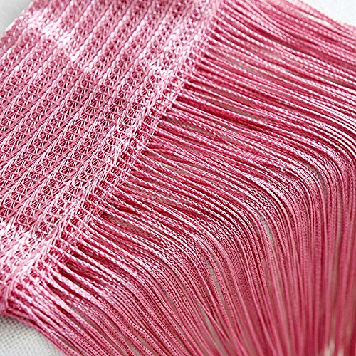 ❤️Ywoow❤️, String Curtains Patio Net Fringe for Door
