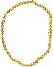 Momma Goose Amber Healing Necklace, Baroque Unpolished Honey