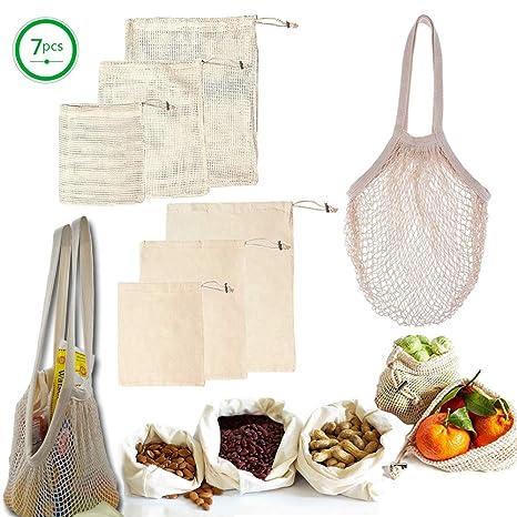 XXYL bolsas reutilizables para productos - 7 piezas incluye ...