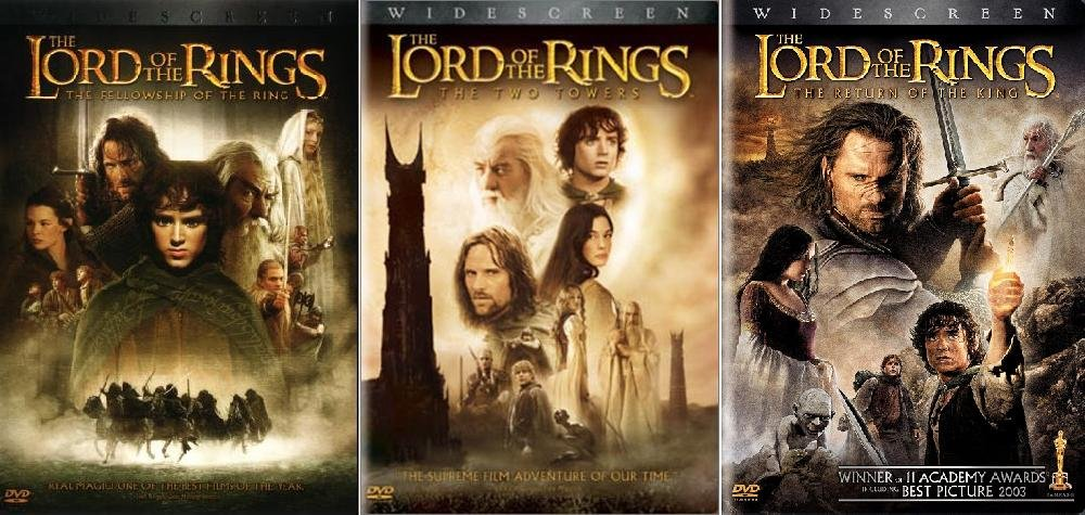 Amazon.com: The Lord of the Rings Trilogy (Widescreen Theatrical ...