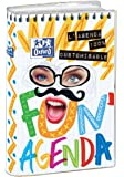 Oxford Fun'Agenda Agenda Scolaire Journalier 2017-2018 1 jour par page 352 pages 12 x 18 cm
