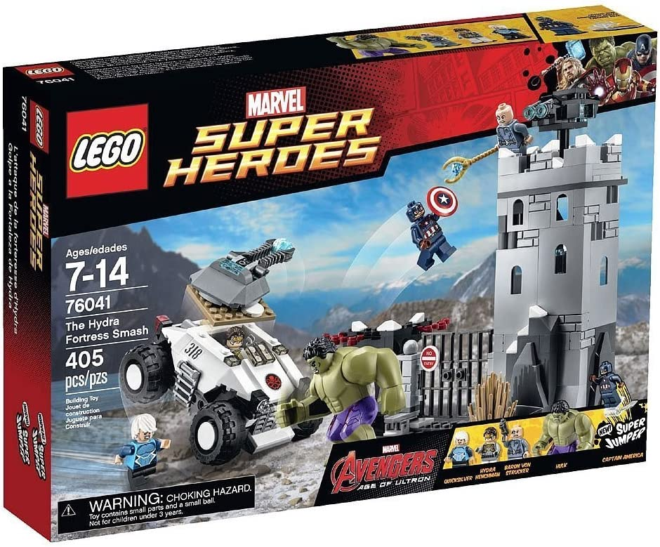LEGO Super Super Heroes 76041 Secret societies Hydra attacks [Parallel imports]