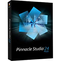 Pinnacle Studio 24 Plus   Powerful Video Editing and Screen Recording Software [PC Disc] Plus 1 Device Perpetual PC Disc