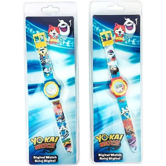 Reloj para niño de Nathan de Yo-Kai, pantalla LCD luminosa y