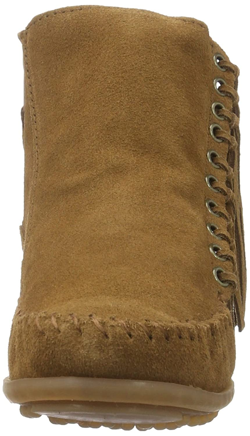 Minnetonka Women's Willow Boot B01BNYUN44 10 B(M) US|Dusty Brown Suede