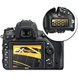 Nikon D750 Displayschutzfolie - 3er Set atFoliX FX-Antireflex blendfreie Folie Schutzfolie