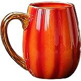 YINYUEDAO Cartoon theme, Ceramic Mug, 3D Pumpkin Cup, Tea, Milk, Coffee, Hot Cocoa, Party, Craft Furnishings, Gifts Box Packi