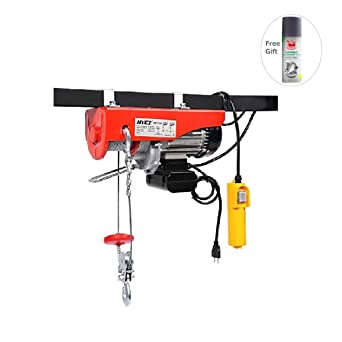 880 lbs mini electric wire hoist with remote control by sunbizpro