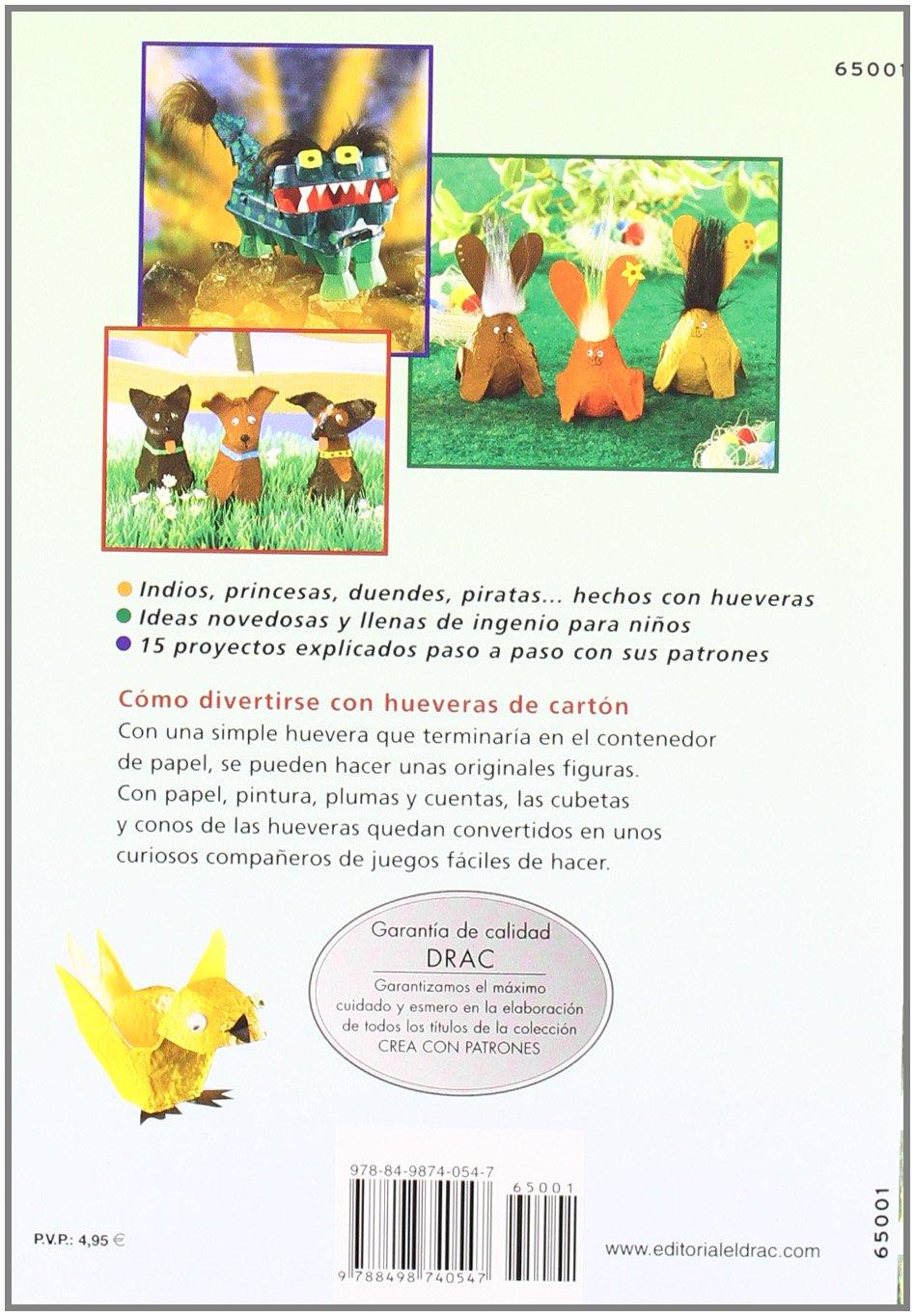 Animales, figuras y mascaras con hueveras para ninos: Armin Taubner: 9788498740547: Amazon.com: Books