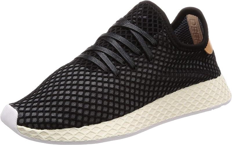 adidas Deerupt Runner Sneakers Fitnessschuhe Unisex Schwarz/Weiß Größe 36 bis 47 1/3
