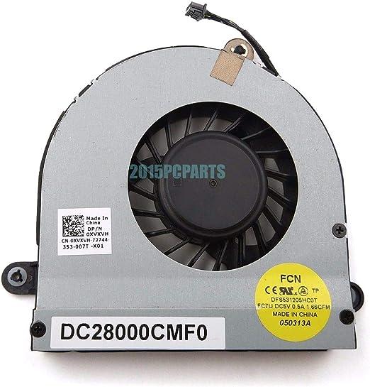 FidgetGear CPU Cooling Fan for DELL Alienware M17x R3 R4 CPU Cooling Fan DC28000CMF0 DC2800099F0