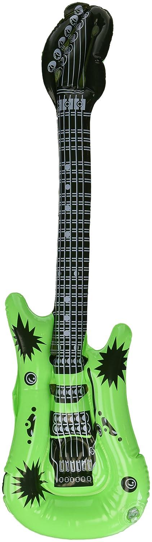henbrant INFLABLE GUITARRA - Verde, One size: Amazon.es: Juguetes y juegos