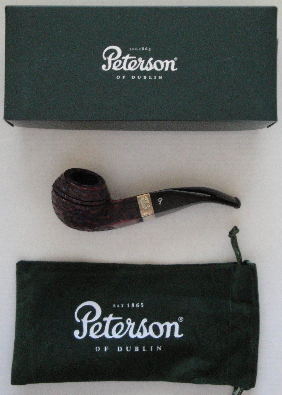 Peterson Donegal Rocky 80S Tobacco Pipe Fishtail