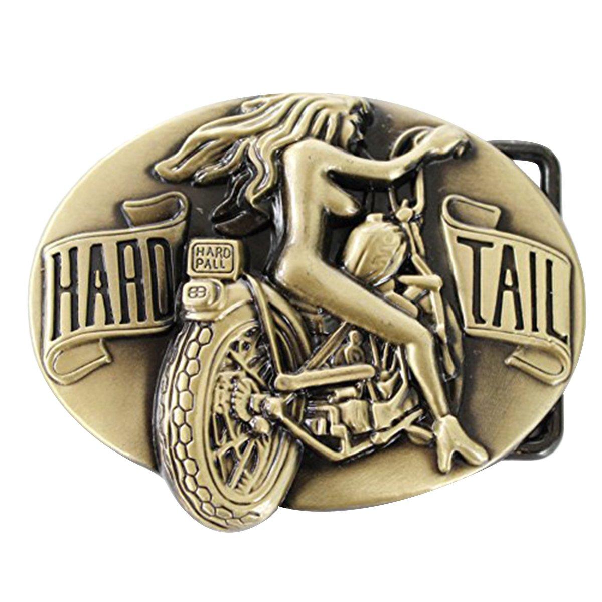 Bai You Mei Donna Motocicletta Fibbie Per Cinture Retro Western Cowboy Uomo Fibbie Per Cinture