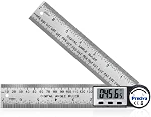 Wide Application Lightweight Digital Protractor for Mechanical Processing Construction 300mm Stainless Steel 2 in 1 Electric Angle Finder
