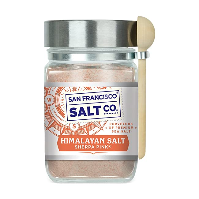 Sherpa Pink Gourmet Himalayan Salt, 5 lbs Fine...