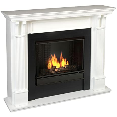 Buy Real Flame Ashley Gel Fuel Fireplace in White Finish: Gel & Ethanol Fireplaces - Amazon.com ? FREE DELIVERY possible on eligible purchases