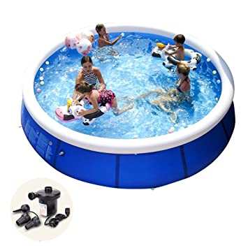 Amazon.com: Bañera inflable grande piscina familiar infantil ...