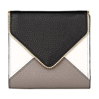 Dante Women's RFID Blocking Small Compact Bifold Leather Pocket Wallet Ladies Mini Purse with id Window