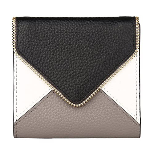 Dante Women's RFID Blocking Small Compact Bifold Leather Pocket Wallet Ladies Mini Purse with id Win...