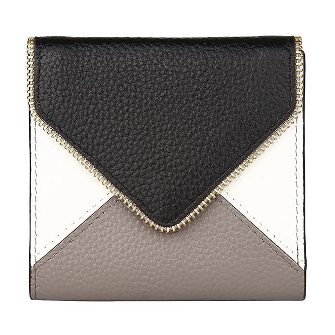 a9e65e89db2 Lavemi RFID Blocking Small Compact Mini Bifold Credit Card Holder Leather  Pocket Wallets for Women(