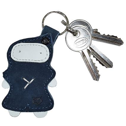 Amazon.com  Ninja Keychain Leather Key Ring Holder Handmade by Hide ... e28c80d5a828