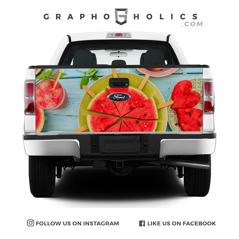 Pick-Up Truck Tailgate Wraps Yummy Watermelon