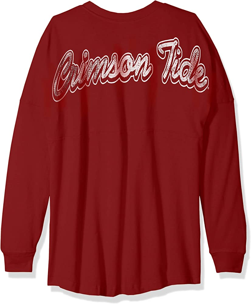 Medium Athletic Red NCAA NC State Wolfpack Womens NCAA Womens Long Sleeve Mascot Style Teeknights Apparel NCAA Womens Long Sleeve Mascot Style Tee