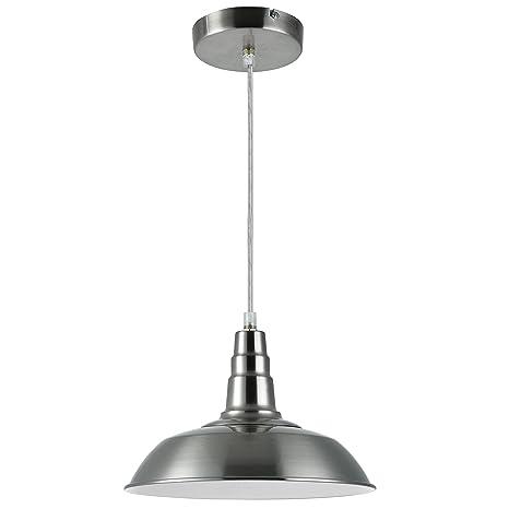 Lux. Pro] lámpara LED de techo lámpara de techo [acero ...
