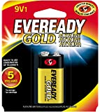 EVEREADY 9V Battery, 9 Volt Alkaline (1 Count)