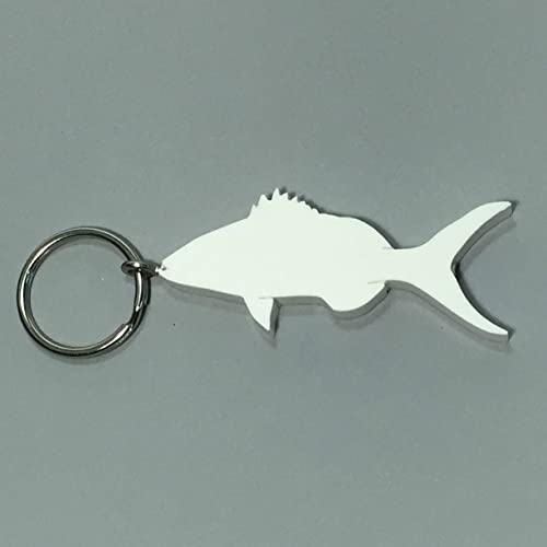 Amazon.com: Fishing Gifts Yellowtail Snapper Keychain Eco Friendly Gifts for Fishermen: Handmade