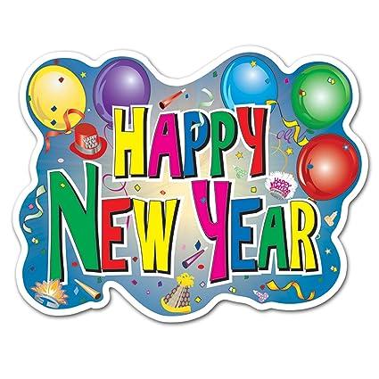 Amazon.com: Beistle 88627 Happy New Year Sign, 12\