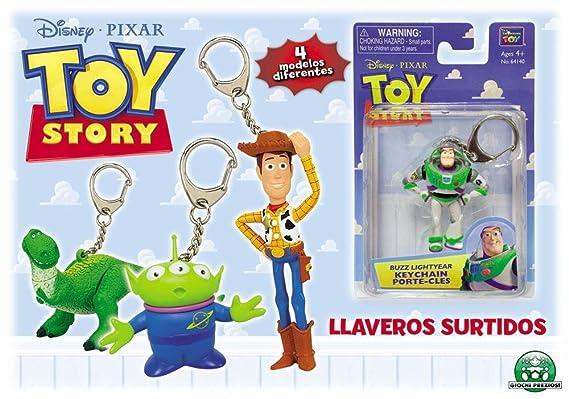 Giochi Preciosi 704003 - Toy Story Llavero Blister 6 Modelos ...