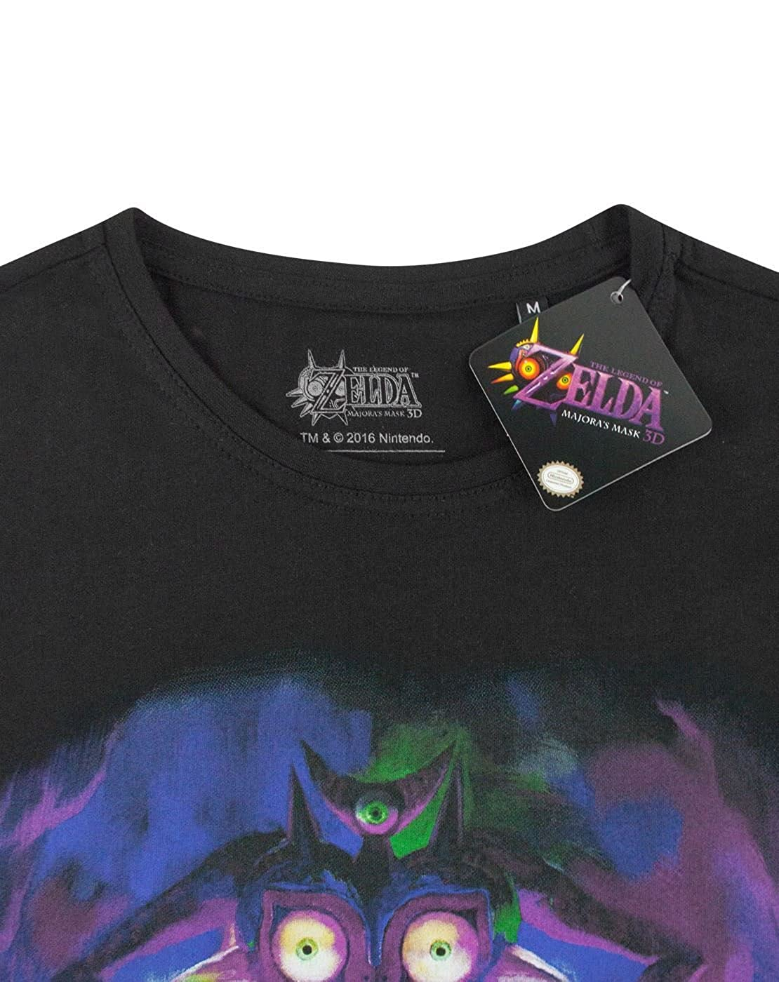 Zelda Majoras Mask Fierce Deity Link Mens T-Shirt: Amazon.es: Ropa y accesorios