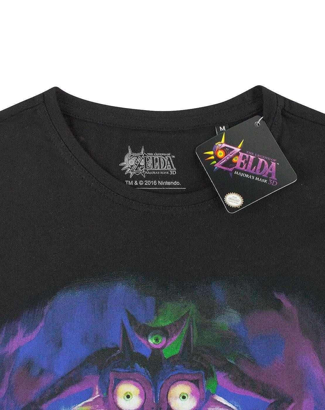 Zelda Majoras Mask Fierce Deity Link Mens T-Shirt: Amazon.es: Ropa y accesorios