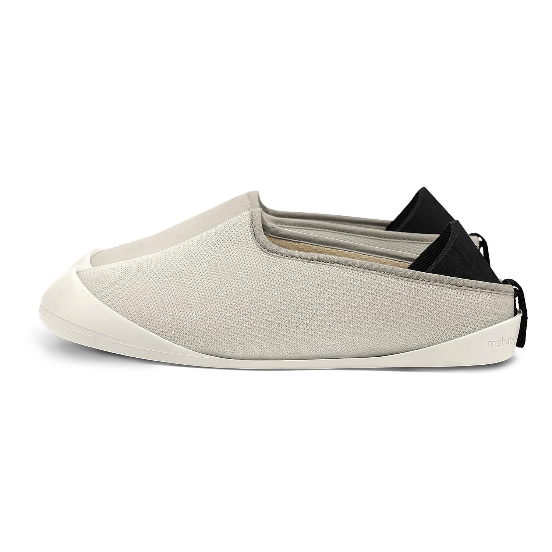 mahabis Summer Slippers B0748HXV1S 8 B(M) US|Sala Stone/ Ilen Ivory