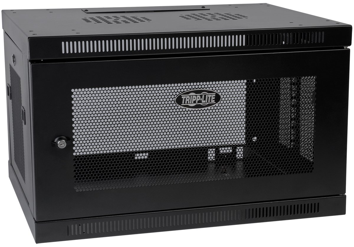 Tripp Lite 6U Wall Mount Rack Enclosure Server Cabinet, 16.5'' Deep, Switch-Depth (SRW6U)